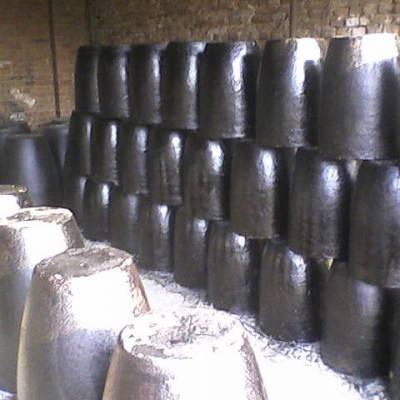 供应中冀金钢牌高品质焦炭炉碳化硅坩埚,石墨粘土坩埚,生物颗粒炉坩埚