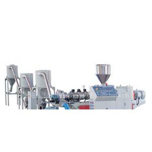 供应供应SJZ系列异向锥双螺杆造粒挤出生产线厂家直销金纬机械塑料挤出机