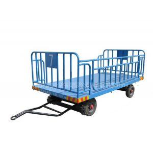 供应广东佛山护栏式行李车 行李车价格 定做行李车找佛山鑫升 集装箱专用行李拖板车