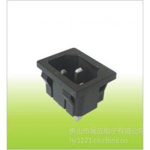 供应ST-A01系列插座,ICE C14插座(图片)