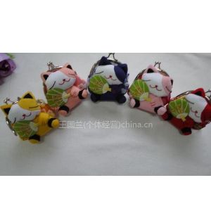 供应日本和风招财猫系列零钱包