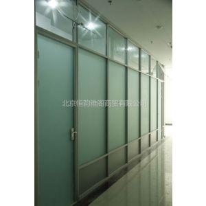 铝合金玻璃隔断型材及配件批发,安装