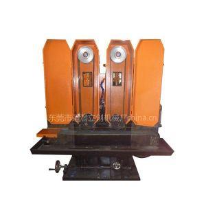 供应双砂自动水磨机LC-ZL615-2 扁钢水磨拉丝机