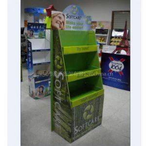 纸货架,纸展示架,供应体育用品纸展示架,纸货架,PDQ促销盒,纸堆头