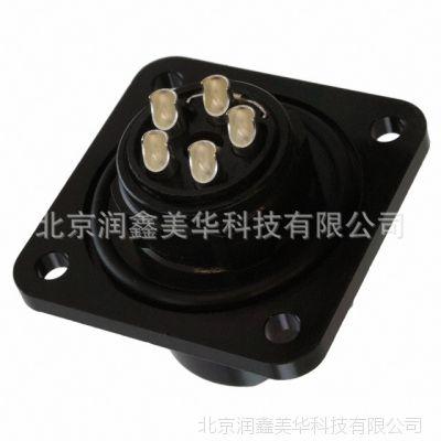 JAE 圆形 连接器 插头母形插口IP67防尘防水 JN2AW05FH1