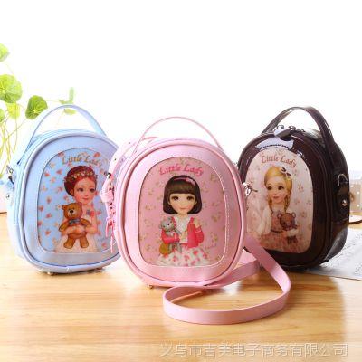 夏季女包2014新款单肩斜跨包儿童韩版美少女系列手拿小包休闲pu包