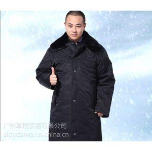 供应广州保安服定做、保安服棉袄、加厚保安服外套、冬款保安服大衣