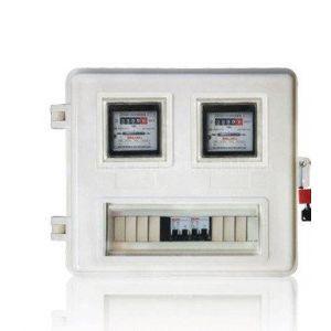 插卡SMC预付费电力表箱 玻璃钢动力箱 变压器防护罩厂家直销