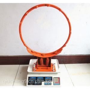 供应标准加强型配垂直弹簧篮球圈/实心篮球圈 钢化玻璃篮球板