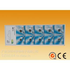 供应AG4纽扣电池,计步器AG4电池,1.5VAG4纽扣电池