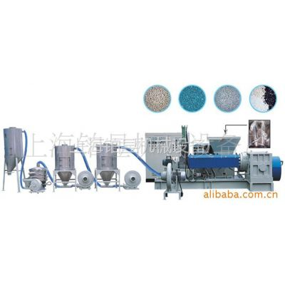 供应塑料造粒机/150型号锥双喂料挤出机/上海铂昱牌机械制造商