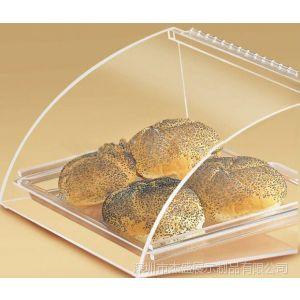 供应有机玻璃面包盒,亚克力食品盒,透明展示盒,食品认证