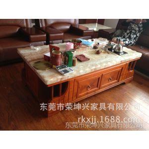 供应物美价廉 多款抢购大理石茶几茶桌 带自动抽水实木家具茶几茶台