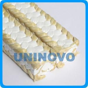 供应UNINOVO 【芳纶角线白四氟盘根】