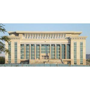 供应大型石材幕墙设计施工,新疆案例:克拉玛依法院办公楼工程