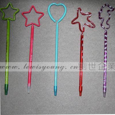 供应卡通造型笔 ABS圆珠笔 广告促销礼品 畅销节日礼品笔 办公用品