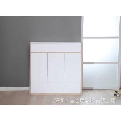 璟鸿家具板式简洁鞋柜客厅家具板式家具