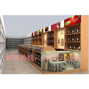 供应茶叶展示柜 天津木制货架 玻璃展示柜 天津展柜厂专业制作