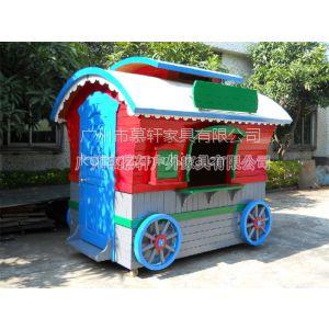 供应订做木制售货车 咨询移动售货车的价格 就找广州慕轩售货车厂家