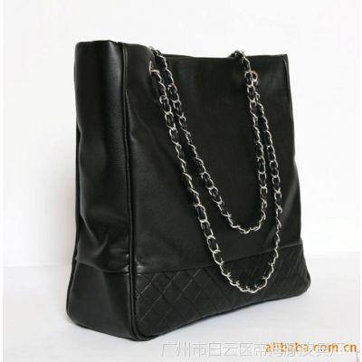 拉链编制女手袋 单肩包 高档斜跨包 时尚女包 广州女包批发