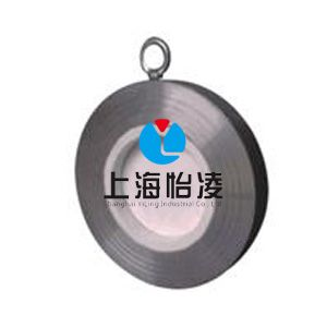 H74TC耐磨陶瓷对夹止回阀-上海怡凌陶瓷止回阀