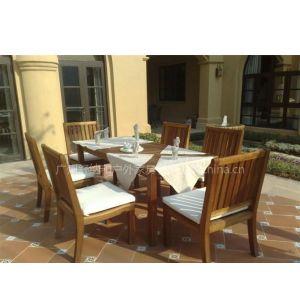 供应户外实木桌椅 餐厅休闲椅 家具厂家
