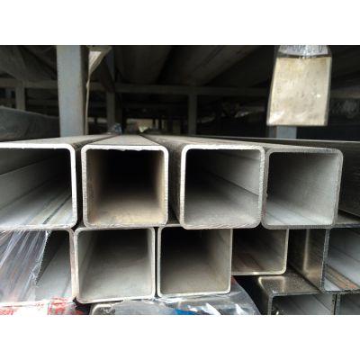大量现货供应316L不锈钢管 深圳拉丝方管
