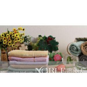 供应毛巾批发竹纤维毛巾、竹纤维方巾