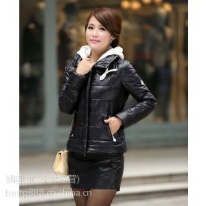 供应2013冬季新款韩版长袖长款棉衣羽绒服批发时尚女装外套批发