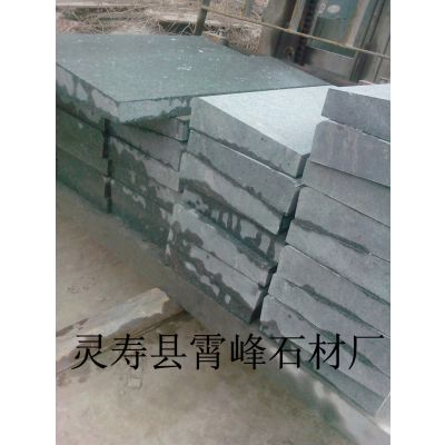 供应古典绿麻花岗岩石材、规格型号可以定做、园林压顶石