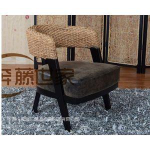 供应佛山藤椅 简单实用热销款式藤椅餐椅休息椅 藤艺家具厂直销