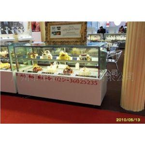 供应供应蛋糕展示柜,展示柜,保鲜柜,面包店冷柜,加湿柜,日式直角柜