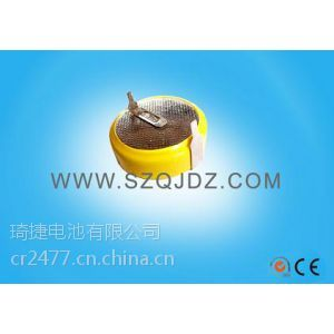 供应3V电池CR2477电池焊脚