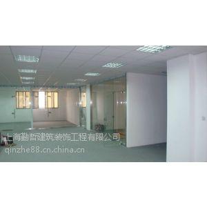 供应上海奉贤厂房整体装修彩钢板玻璃隔断烤漆龙骨吊顶