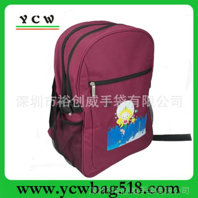 深圳书包厂家 生产休闲背包 单肩背包 订做卡通书包