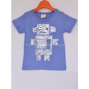 供应儿童短袖T恤日韩外贸童装潮儿童打底衫