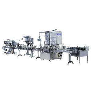 供应小瓶线KXGF-12-12-1每小时2000瓶常压自动饮料生产线/KXGF-12酒水半自动生产线