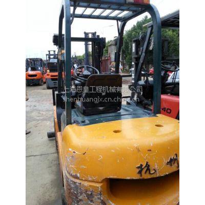 【新款圆弧屁股】特价二手3吨杭叉,杭州3吨柴油叉车二手3吨叉车