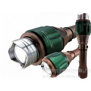 供应LED手电筒 高亮度充电手电筒