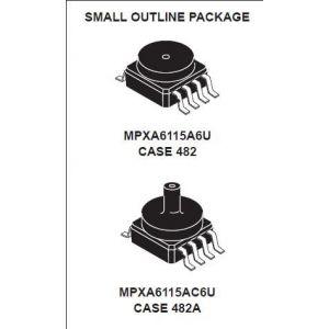 供应美国飞思卡尔MPXHZ6115A6T1|深圳传感器代理