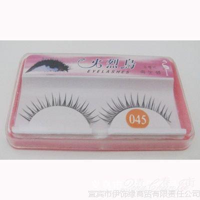时尚台湾纯手工 进口假眼睫毛 交叉浓密自然纤长款 化妆品产品