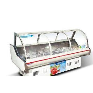 供应豪华冷鲜肉柜生鲜柜 风幕柜 熟食柜 冷藏展示柜 生鲜肉柜