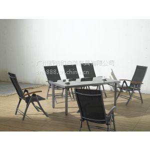供应海南沙滩休闲椅/网布休闲椅/配圆桌的休闲椅