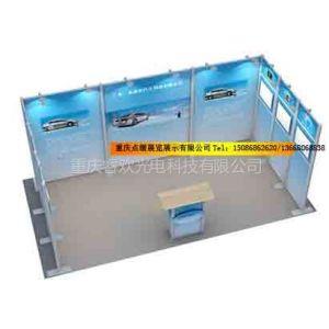 供应重庆中小型灵动展位 展厅背景墙 广告展板 便携广告器材 展览