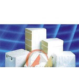 供应镁还原炉用含锆硅酸铝陶瓷纤维模块喷吹毯施工