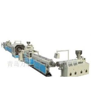 供应PVC纤维增强软管生产线 ,塑料管材单螺杆挤出机设备青岛佳森产量高