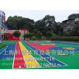 供应上海幼儿园塑胶地坪价格|现浇施工|施工材料