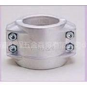 供应DIN2817铝合金安全管夹厂家直销EN14420-3标准1/2寸3/4寸两片式软管抱箍管箍管卡