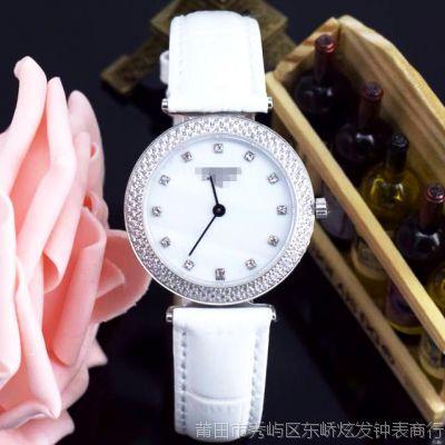 瑞士高档手表 新版博雅女装超薄手表 时尚休闲女款皮带石英表