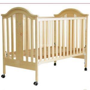 供应贝安诺白木系列婴儿床-盖亚